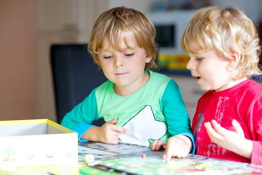 Board games are a great inexpensive way to entertain children. Photo by Shutterstock