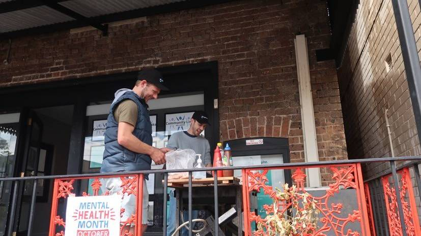 Move over Bunnings, ReFrame is holding a free sausage sizzle on the balcony of 5 Wingecarribee St, Bowral to talk about mental health awareness. Photo: Vera Demertzis