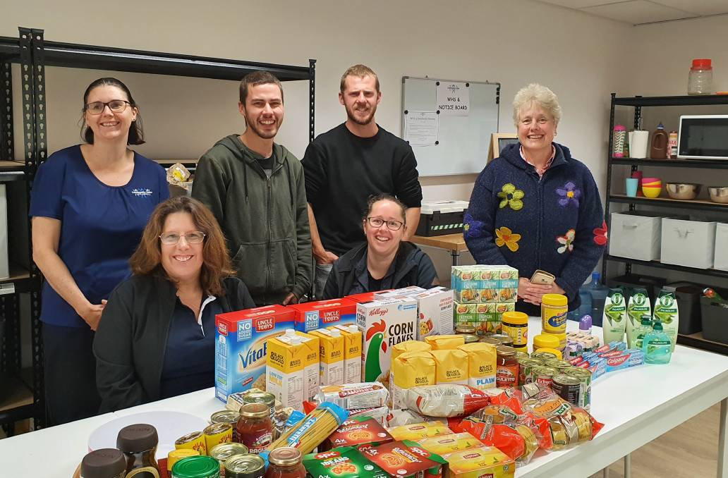 Special delivery: Additional items were dropped off by OzHarvest at Community Links ReFrame. Photo: supplied.