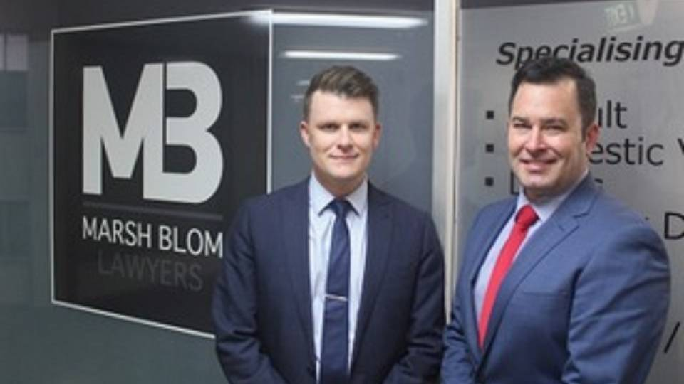 ON THE DEFENCE: Joshua Blom and John Marsh have opened their own business after years of working with NSW Police. Photo: supplied