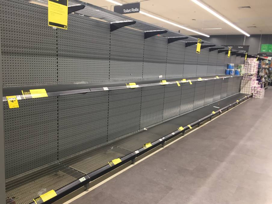 Woolworths Mittagong on Saturday, June 27. Photo: Supplied